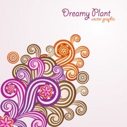Dreamy Plant Vector
