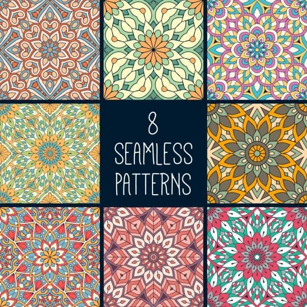 Eight ethnic patterns