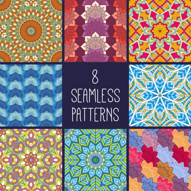 8 ethnic patterns