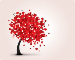 Lovely Tree Vector