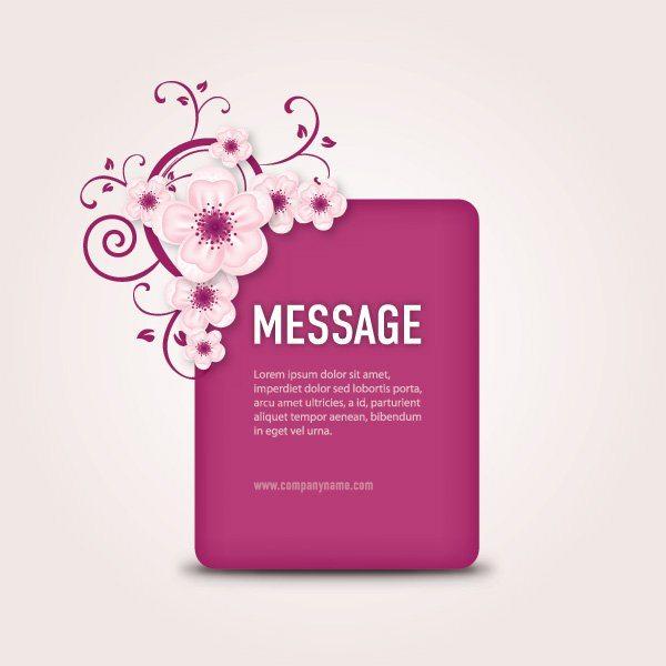 Message Box Vector