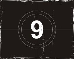 Movie countdown Vector