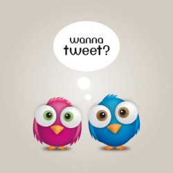 Wanna Tweet Vector