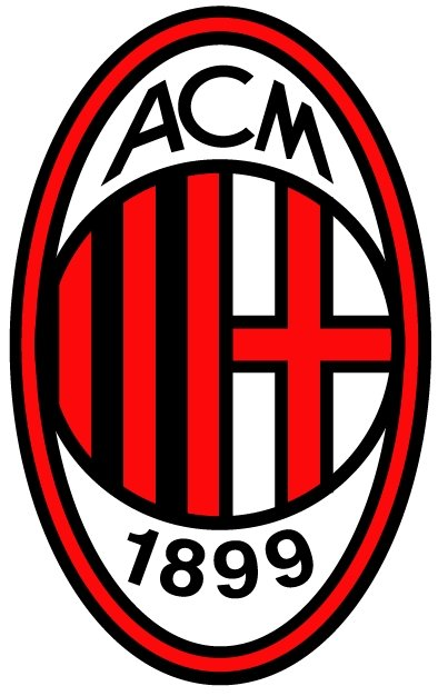 AC Milan Logo [EPS File] Vector EPS Free Download, Logo, Icons, Brand Emblems