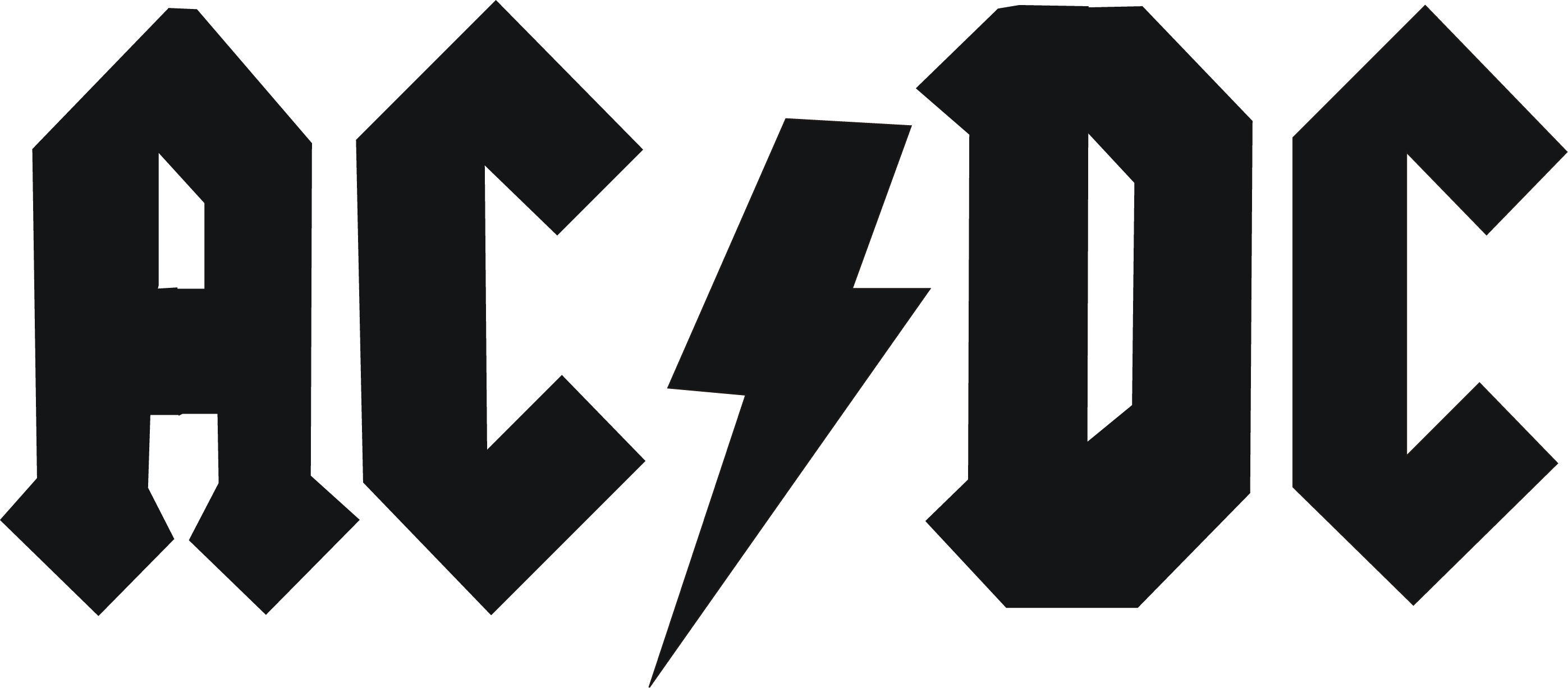 AC/DC Band Logo [EPS File] Vector EPS Free Download, Logo, Icons, Brand Emblems
