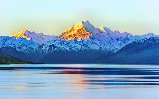 Aoraki Mount Cook New Zealand 5K Wallpapers