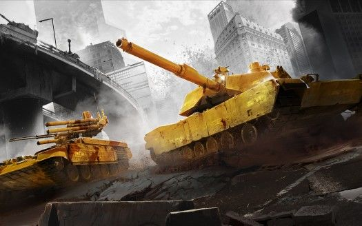 Armored Warfare City Battle Wallpapers