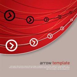 Arrow Template Vector