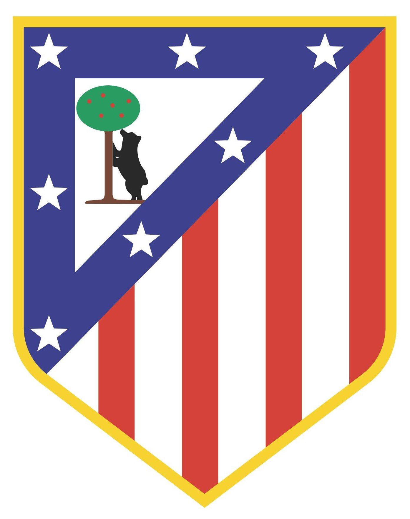Atletico Madrid Logo Vector EPS Free Download, Logo, Icons, Brand Emblems