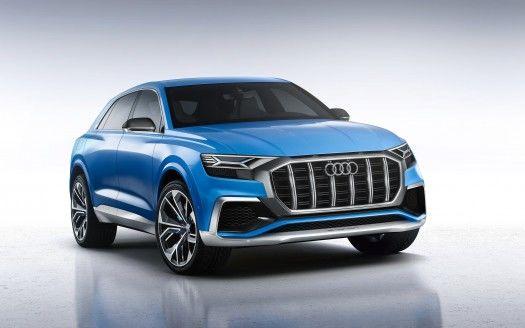 2018 Audi Q8 SUV Wallpapers