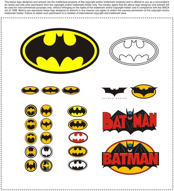 Batman Logo Vector EPS Free Download, Logo, Icons, Brand Emblems