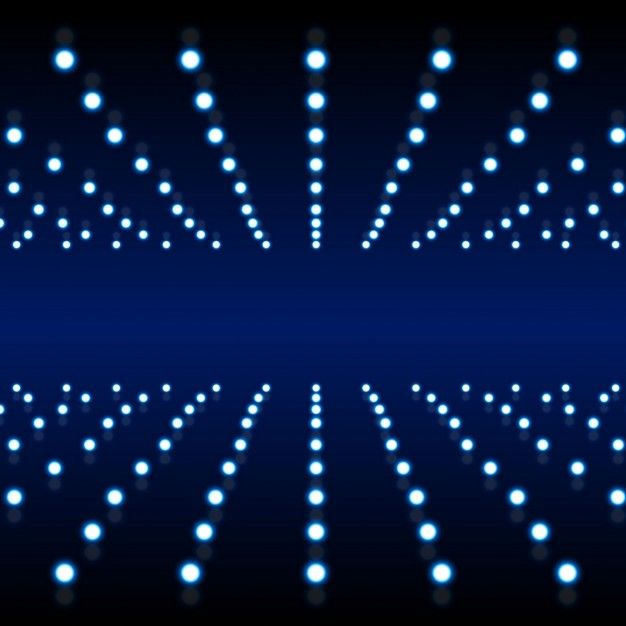 Blue background with light structure