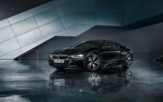 2017 BMW i8 Frozen Black 4K Wallpapers