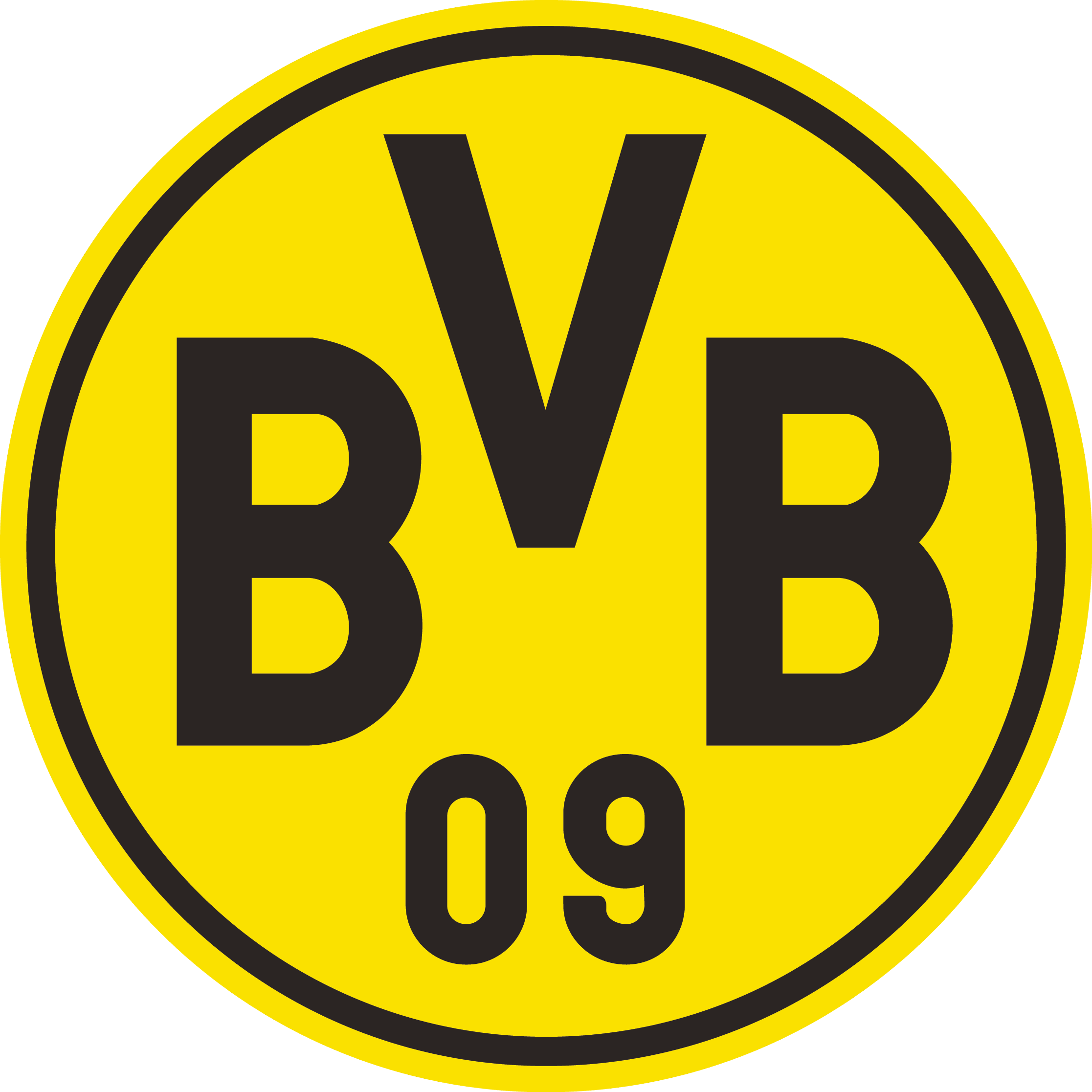 Borussia Dortmund Logo [EPS File] Vector EPS Free Download, Logo, Icons, Brand Emblems