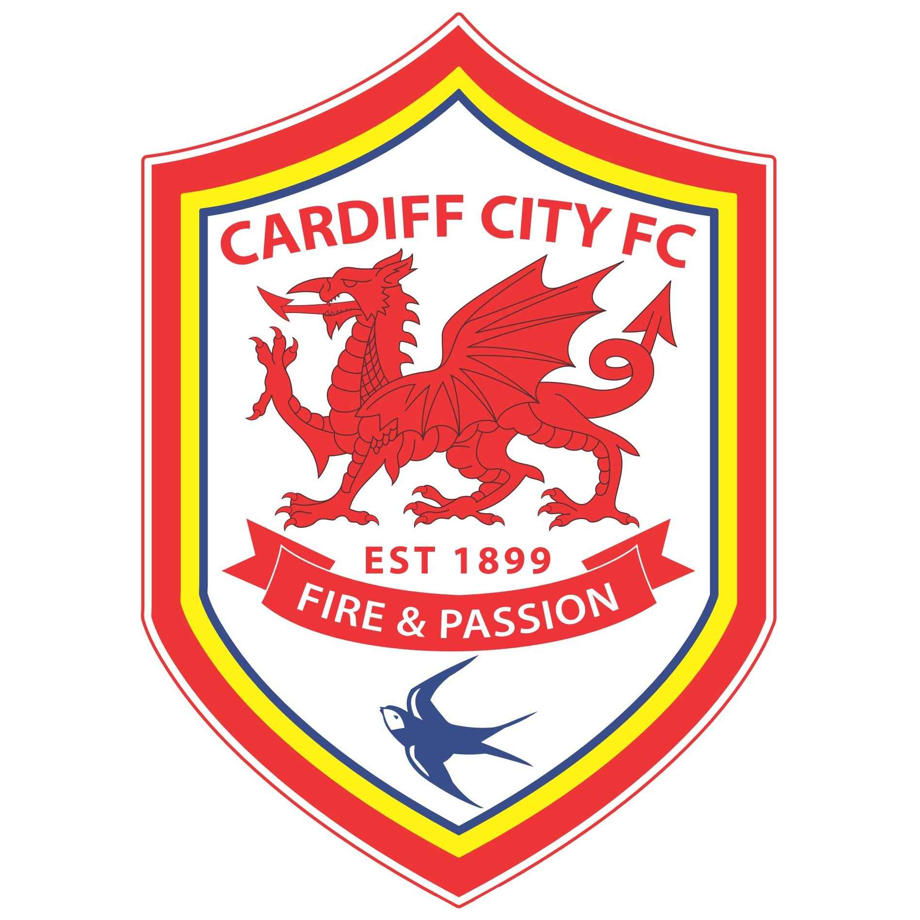 Cardiff City Football Club Logo [EPS] Vector EPS Free Download, Logo, Icons, Brand Emblems