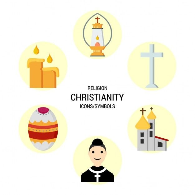 Christian religion icons