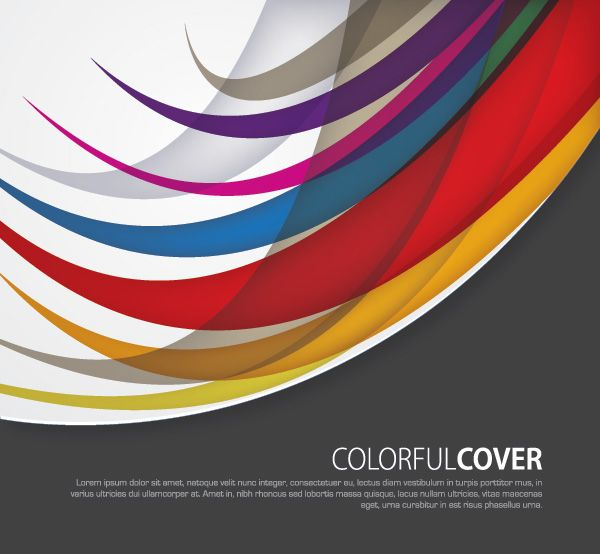 Colorful Cover Vector