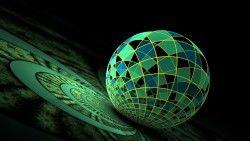 Ball, Surface, Green laptop 1366×768 HD Background
