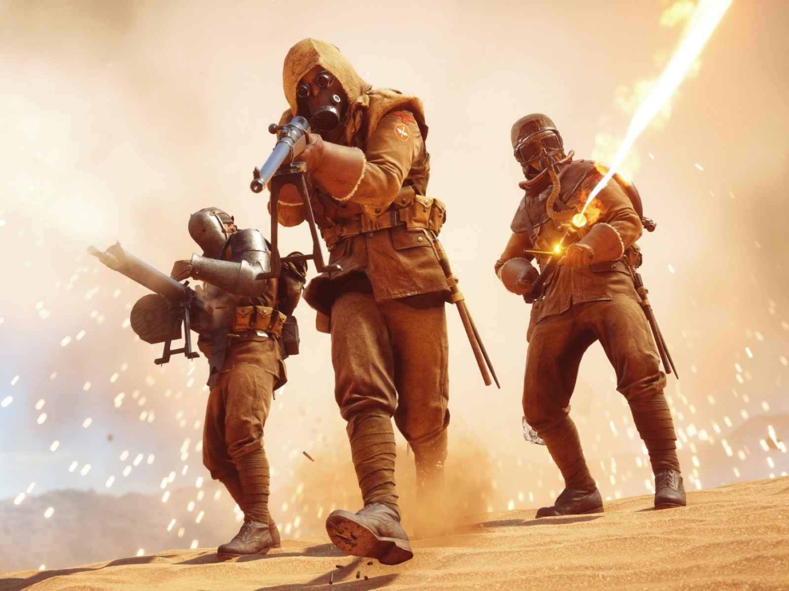 Battlefield 1, Characters, Battle 1600×1200 HD Background