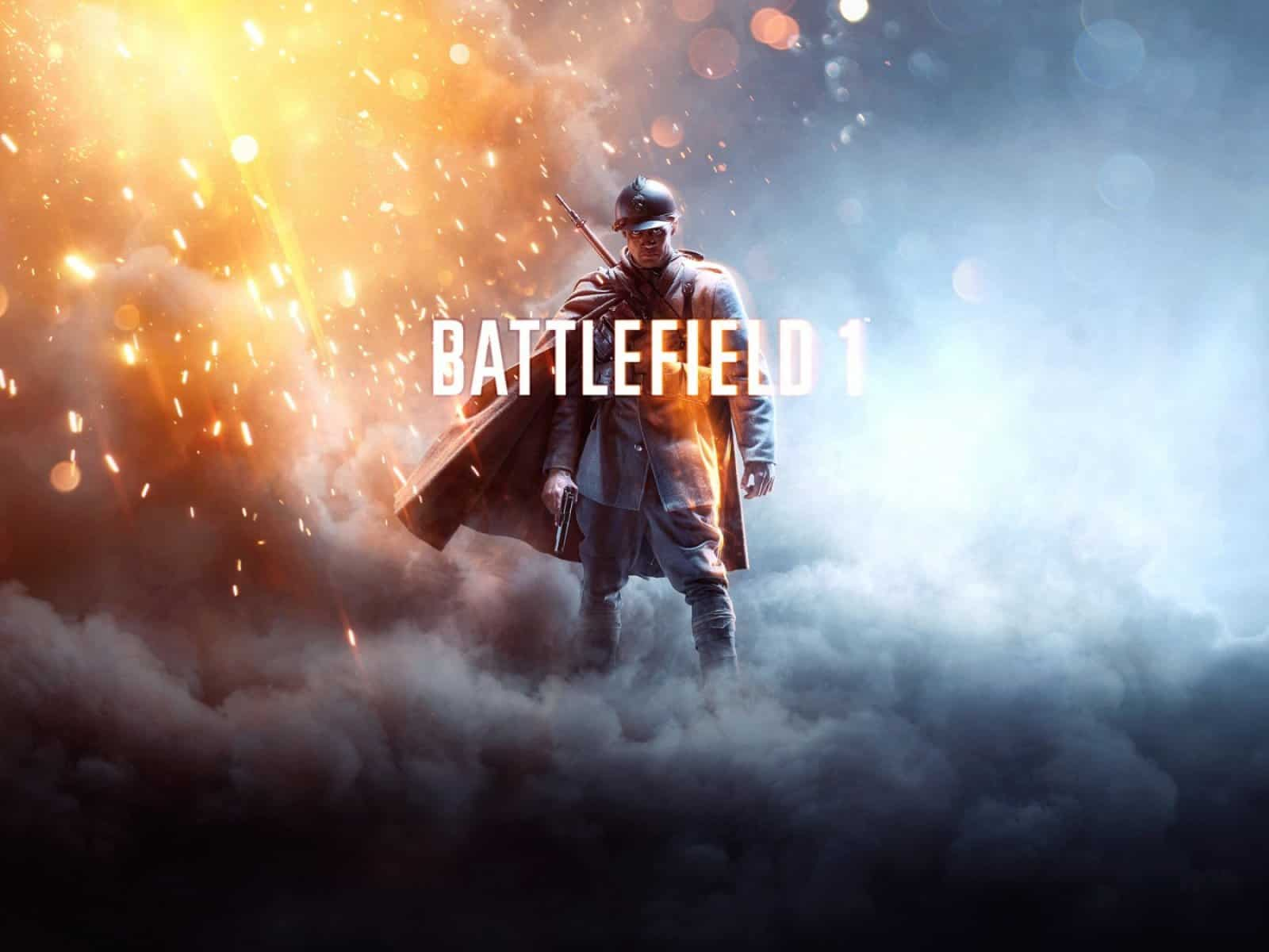 Battlefield one, Tm, Ea, Art 1600×1200 HD Background