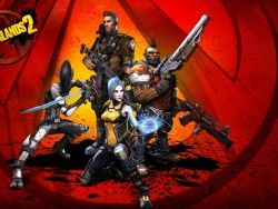 Borderlands 2, Salvador, Gunzerker, Maya, Zero, Axton 1600×1200 HD Background
