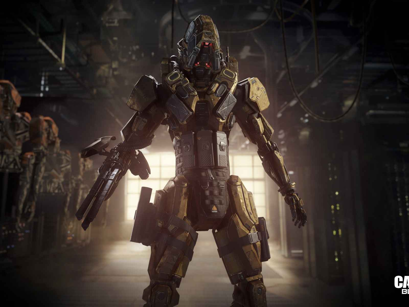 Call of duty, Black ops iii, Robot 1600×1200 HD Background