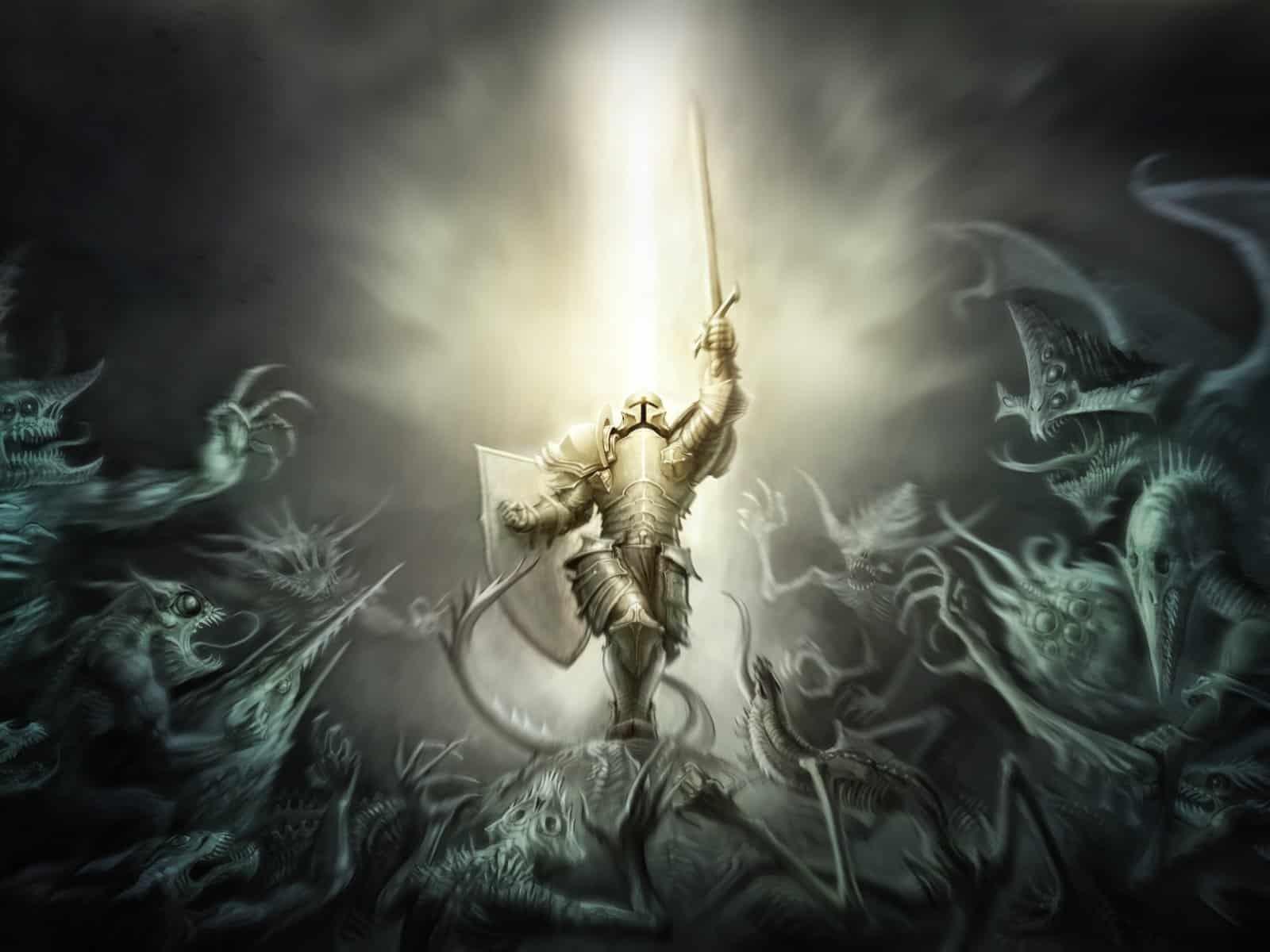 Diablo 3, Crusader, Armor 1600×1200 HD Background