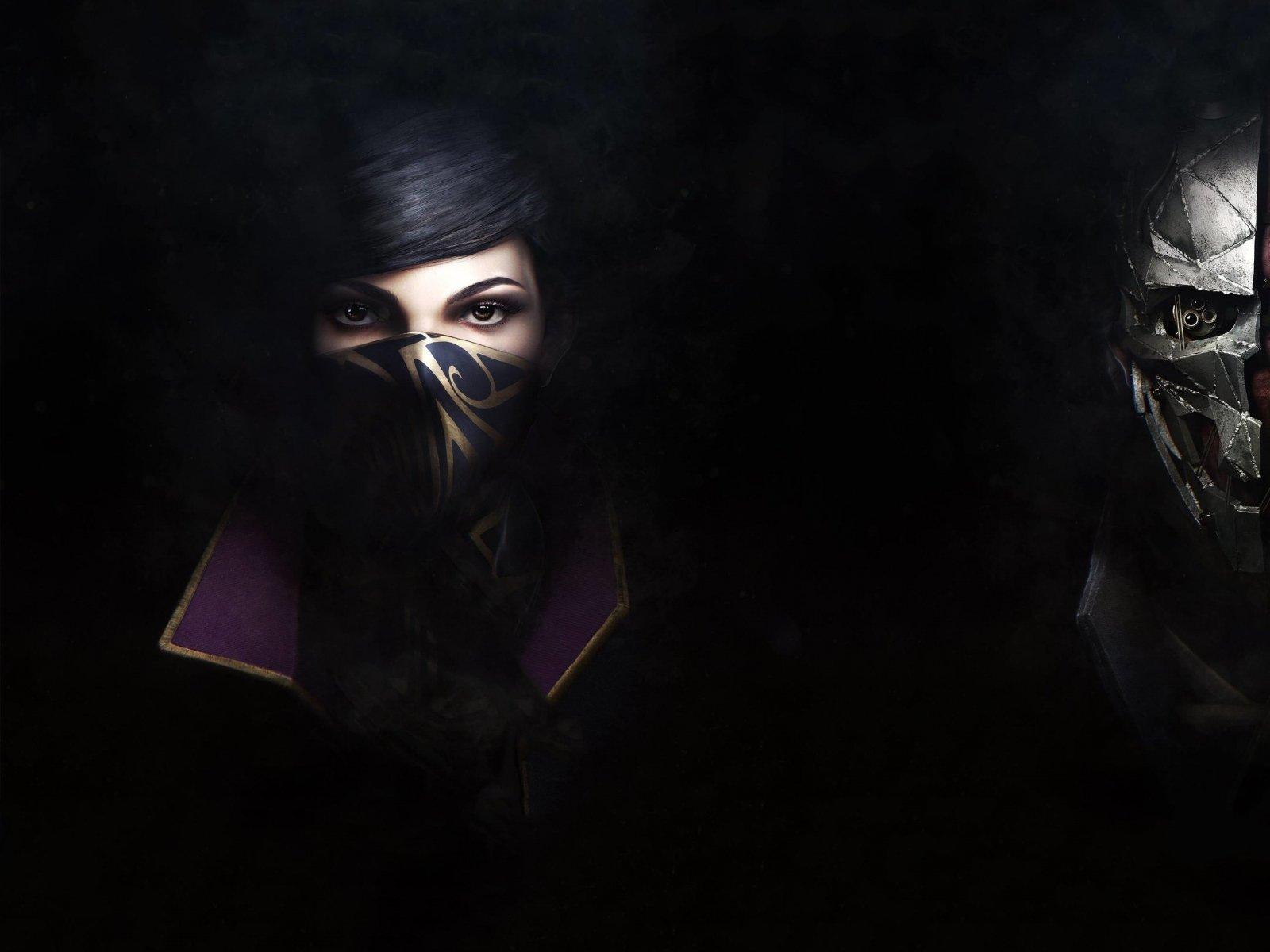 Dishonored 2, Emily kaldwin, Corvo attano 1600×1200 HD Background