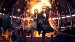 Doctor who, Peter capaldi, Jenna coleman laptop 1366×768 HD Background