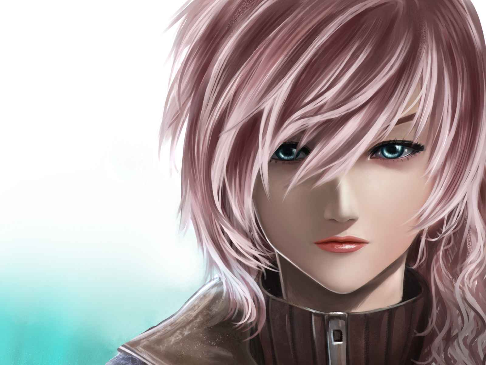Final fantasy xiii, Girl, Face, Art 1600×1200 HD Background