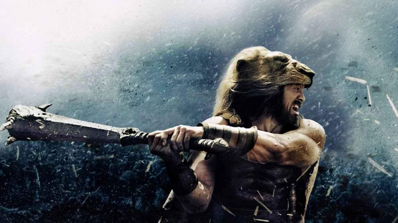 Hercules, 2014, Dwayne johnson laptop 1366×768 HD Background