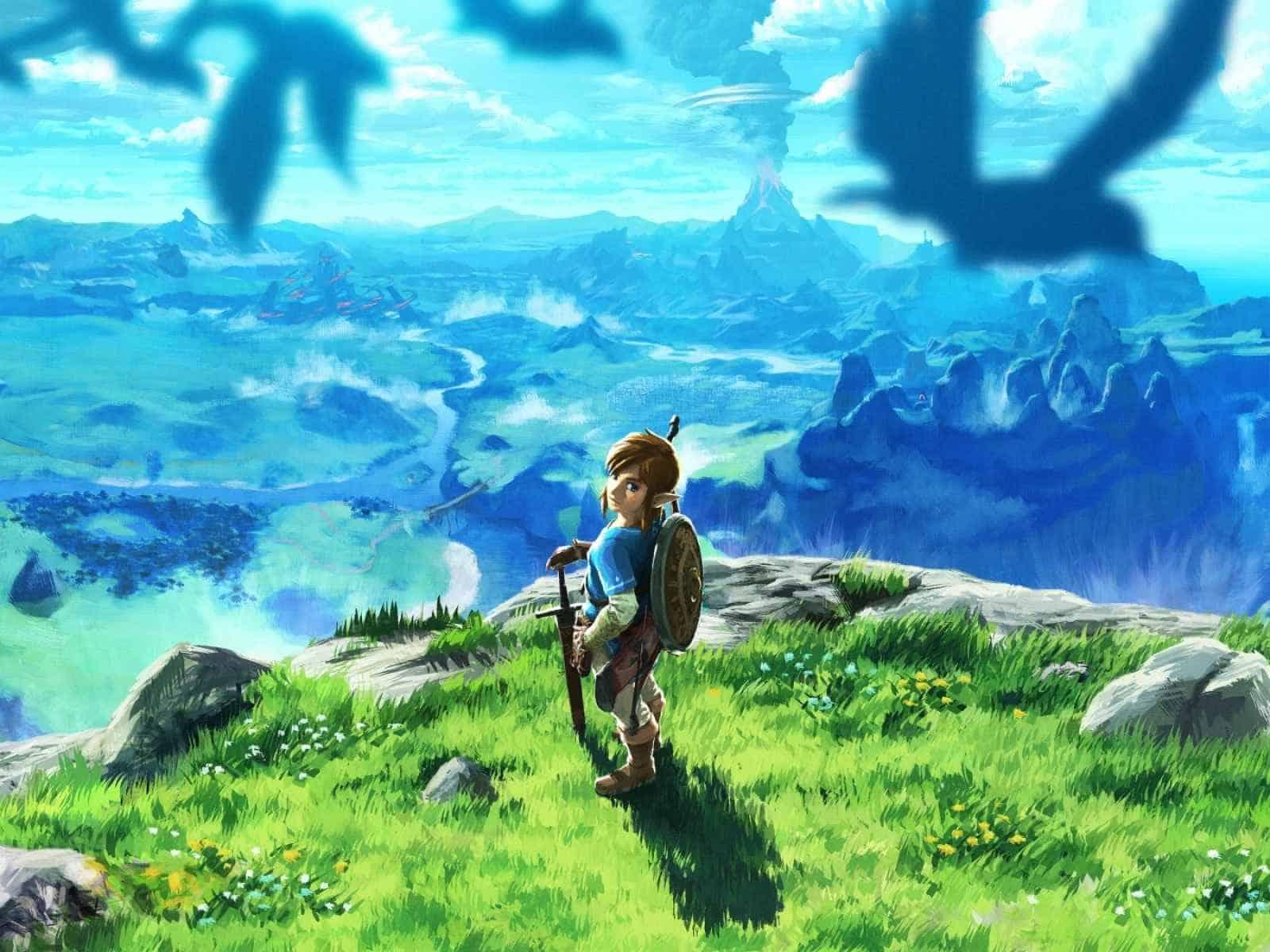 Legend of zelda, Breath of the wild, Art 1600×1200 HD Background