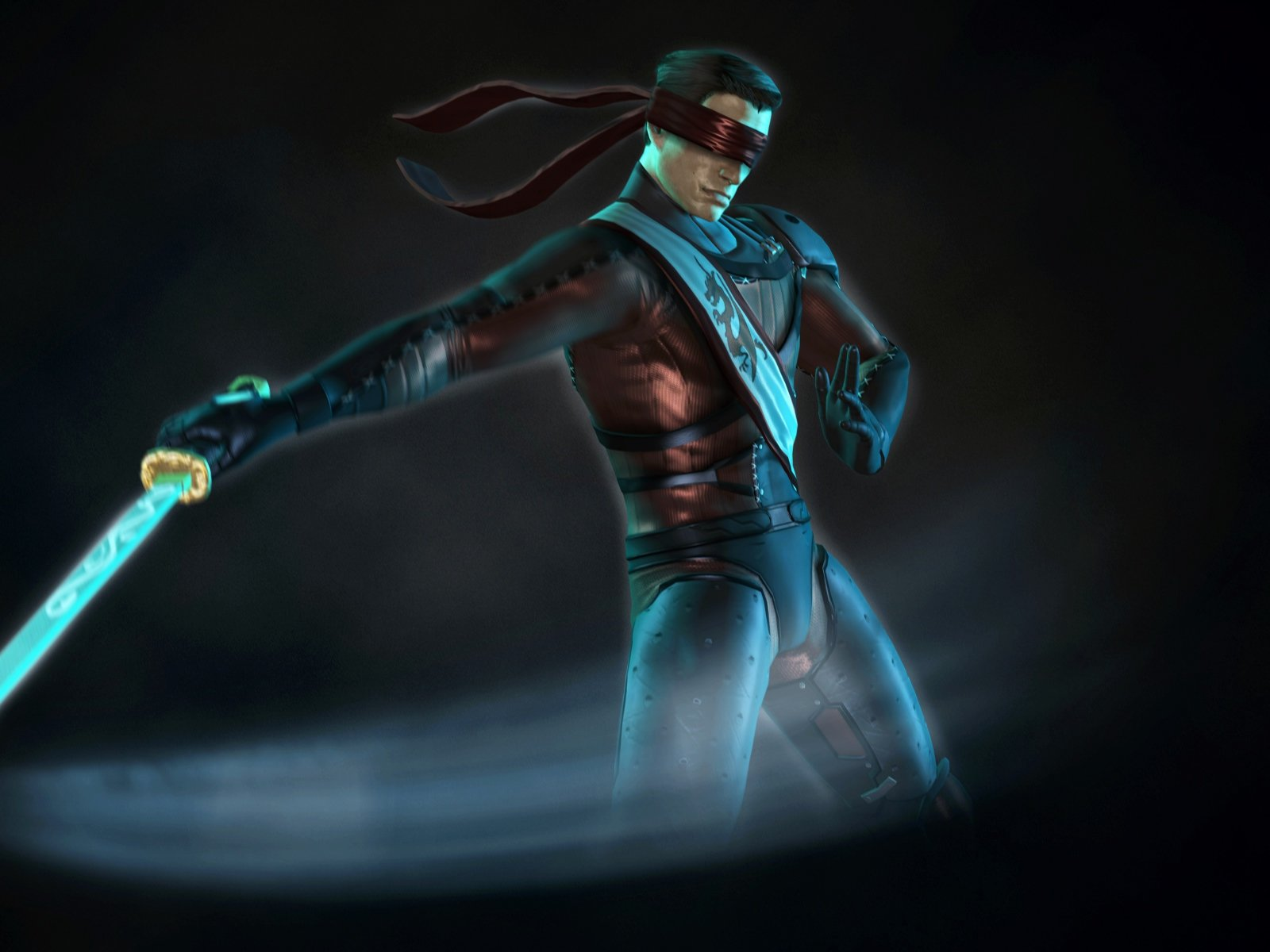 Mortal kombat, Kenshi, Katana 1600×1200 HD Background