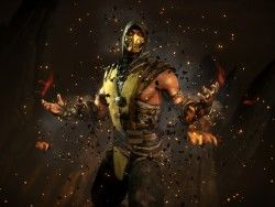 Mortal kombat x, Scorpion, Ninja 1600×1200 HD Background