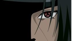 Naruto, Akatsuki uchiha, Guy, Bangs, Close-up laptop 1366×768 HD Background