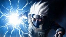 Naruto, Hatake kakashi, Art laptop 1366×768 HD Background