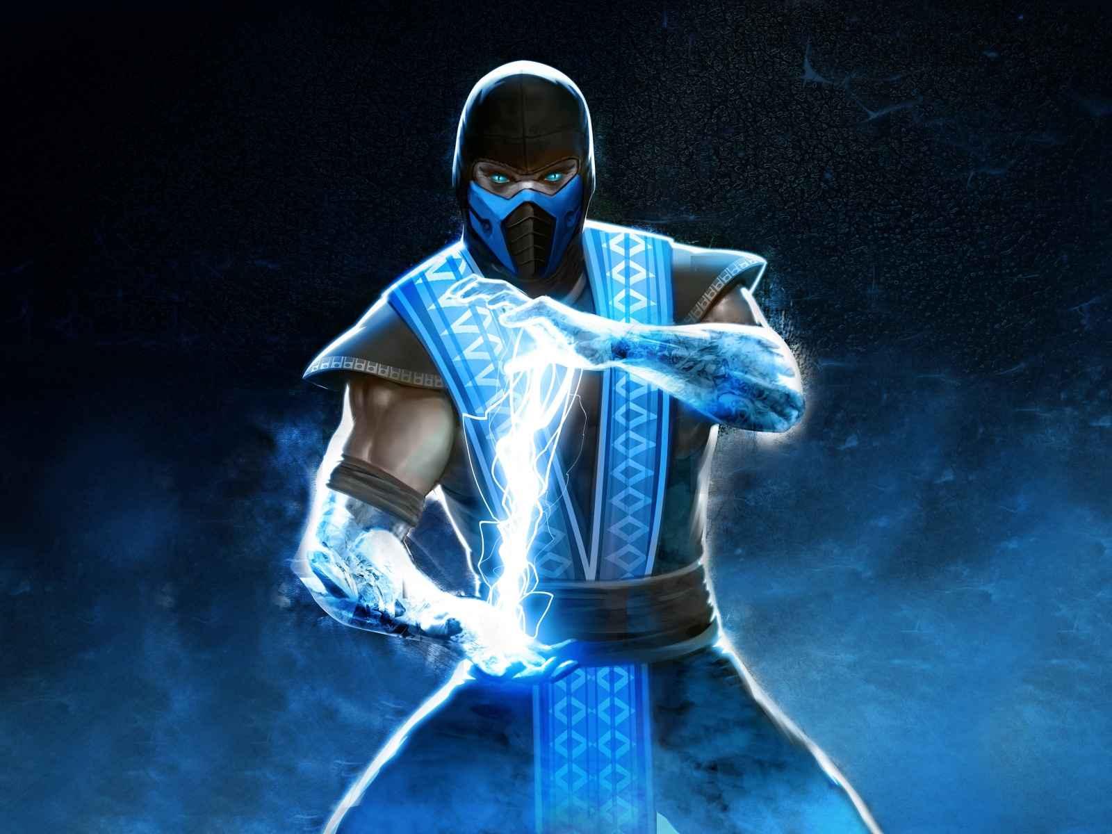 Sub-zero, Mortal kombat, Ninja 1600×1200 HD Background