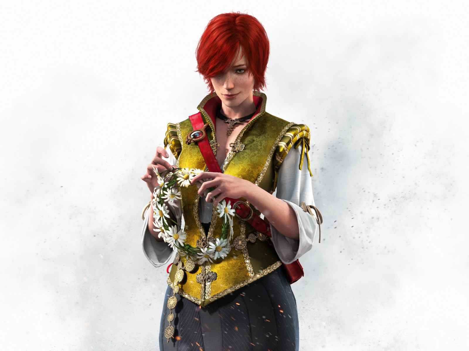 The witcher 3, Wild hunt, Shani 1600×1200 HD Background