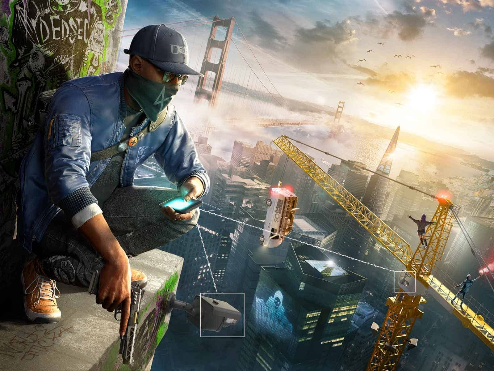 Watch dogs 2, Aiden pearce, Character, City 1600×1200 HD Background