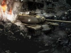 World of tanks, T110e5, Usa, Bigworld, Wot 1600×1200 HD Background