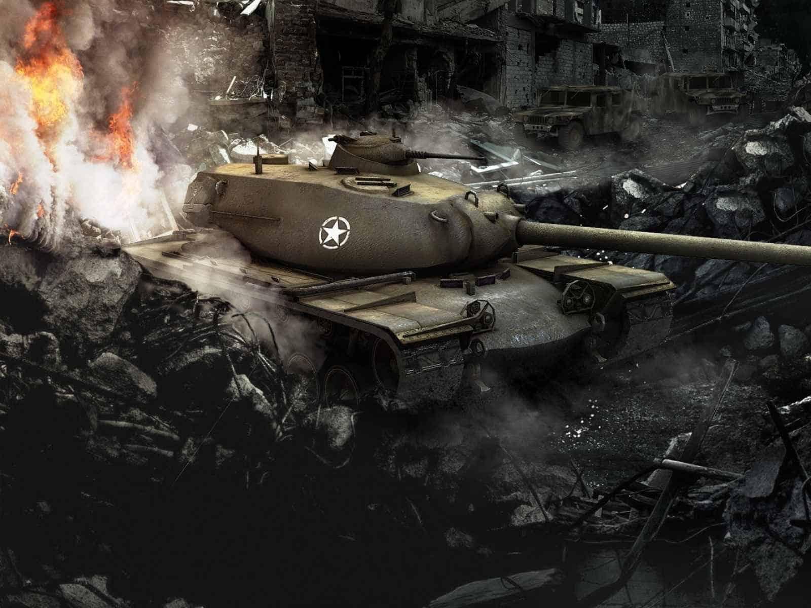 World of tanks, T110e5, Usa, Bigworld, Wot 1600×1200 HD Background