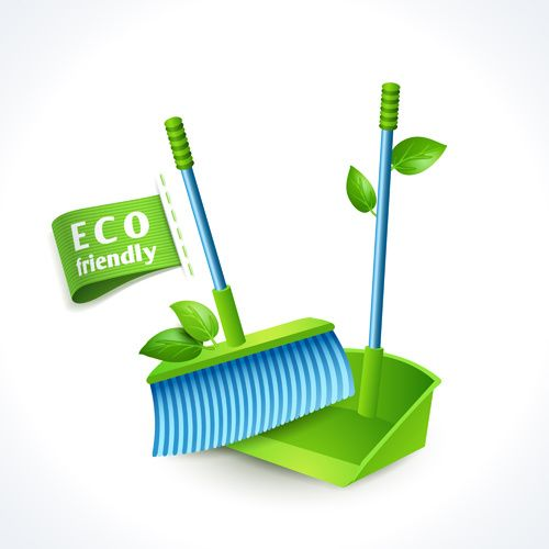 Eco friendly logos creative vector
