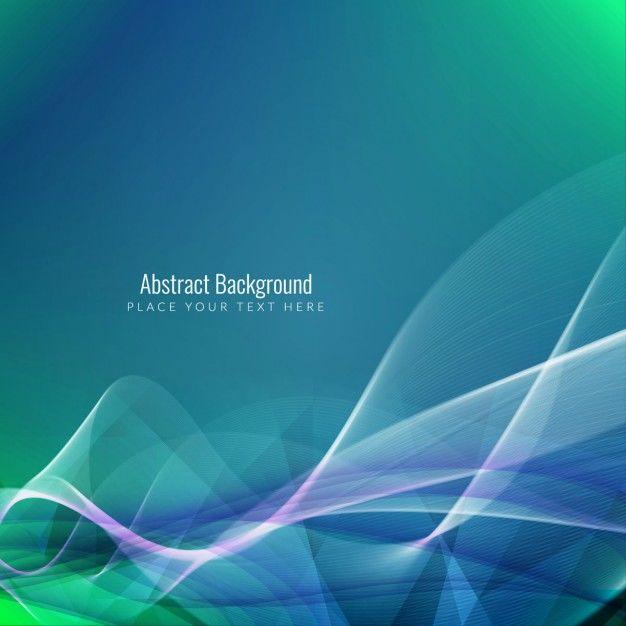 Elegant background with dynamic waves