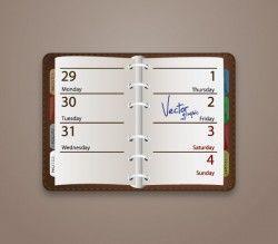 Friday Vector address book