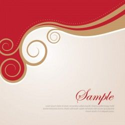 Golden Swirls Vector