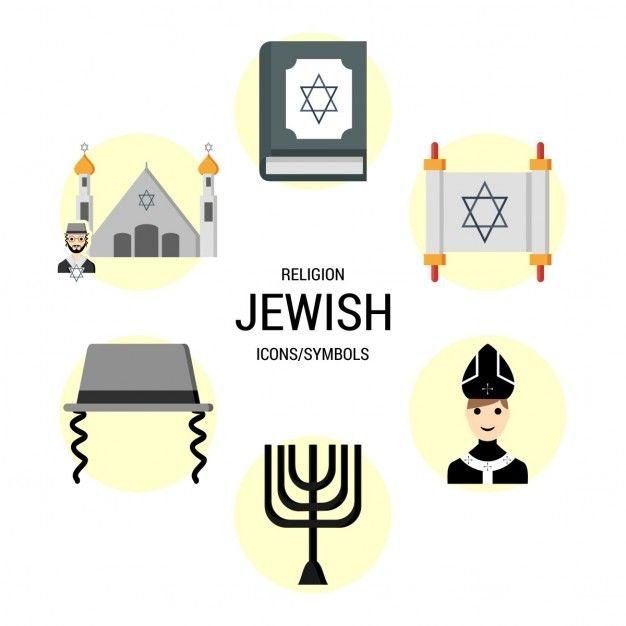 Jewish religion icons