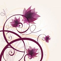 Lost Flowers Vector Graphic