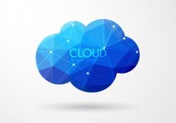 Polygonal Cloud Vector