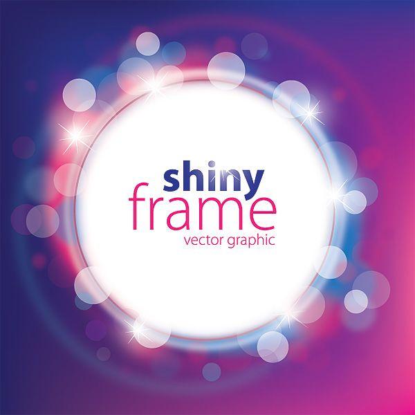 Shiny Frame Vector