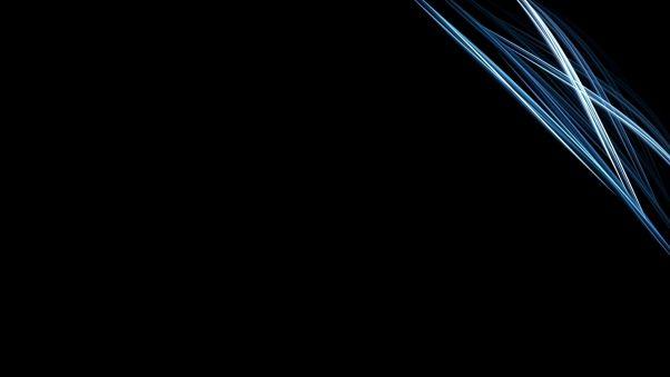 Wallpaper Black, White, Line, Silver HD, Picture, Image